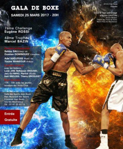 Prochain Gala de l'Avia Club Boxe : samedi 25 mars 2017