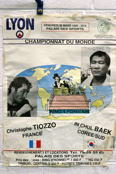 Affiches Christophe Tiozzo